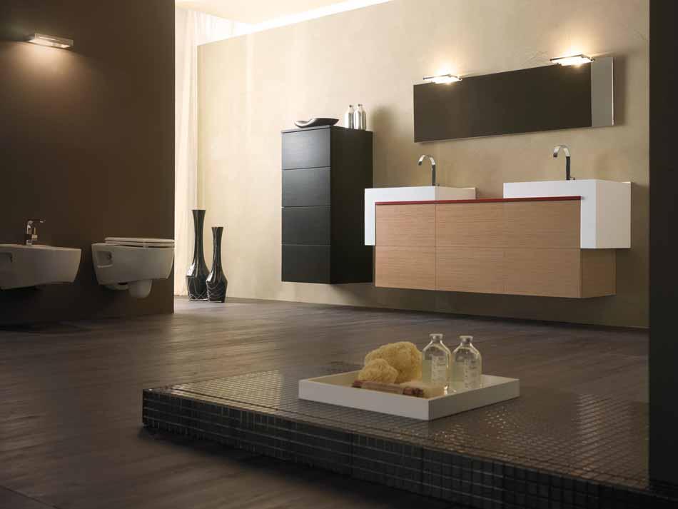 Bmt Arredo Bagno Moderno Pi Quadro – Bruni Arredamenti – 102