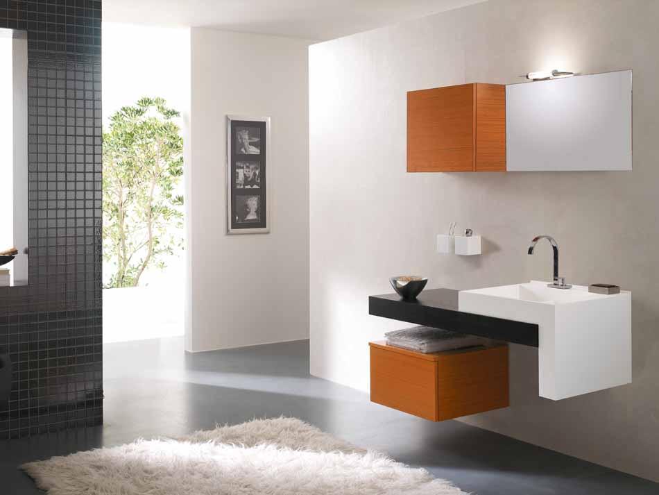 Bmt Arredo Bagno Moderno Pi Quadro – Bruni Arredamenti – 107