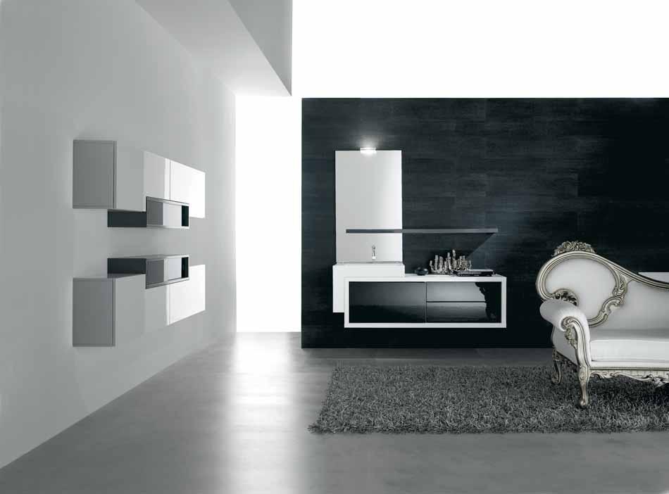 Bmt Arredo Bagno Moderno Pi Quadro – Bruni Arredamenti – 111
