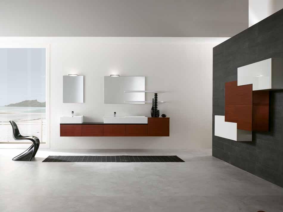 Bmt Arredo Bagno Moderno Pi Quadro – Bruni Arredamenti – 113