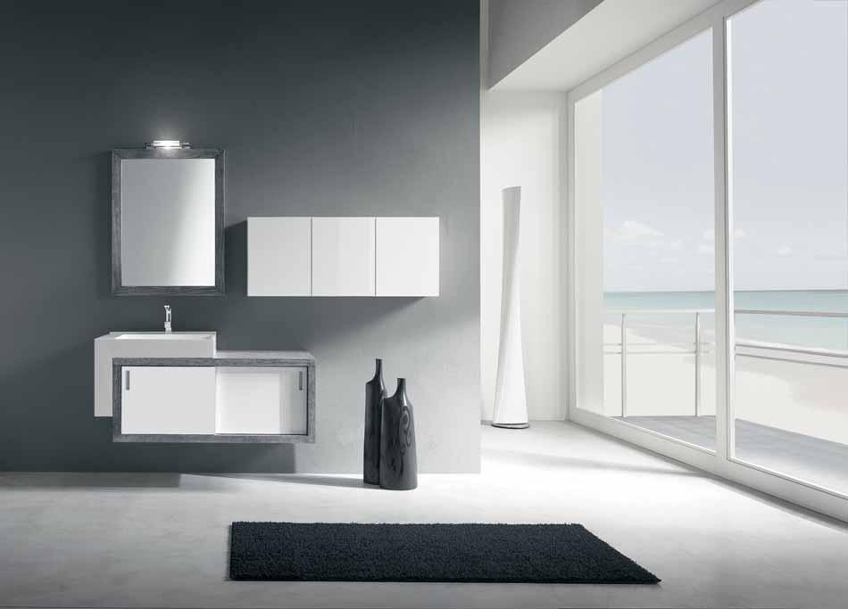 Bmt Arredo Bagno Moderno Pi Quadro – Bruni Arredamenti – 124