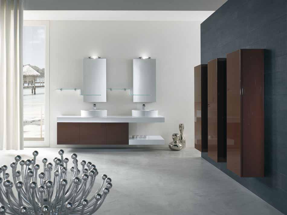 Bmt Arredo Bagno Moderno Pi Quadro – Bruni Arredamenti – 126