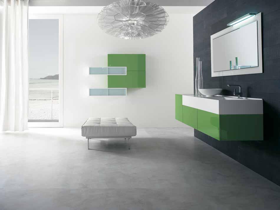 Bmt Arredo Bagno Moderno Pi Quadro – Bruni Arredamenti – 130