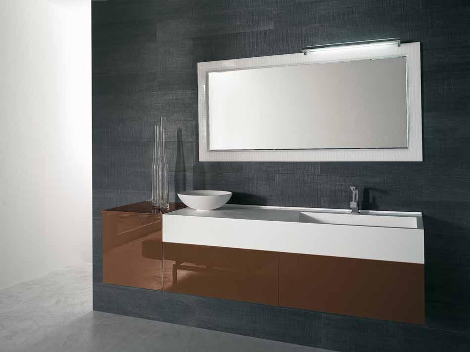 Bmt Arredo Bagno Moderno Pi Quadro – Bruni Arredamenti – 131
