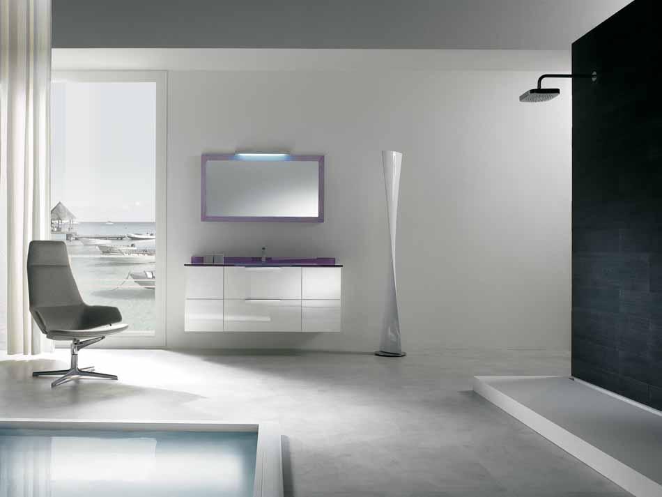 Bmt Arredo Bagno Moderno Pi Quadro – Bruni Arredamenti – 133