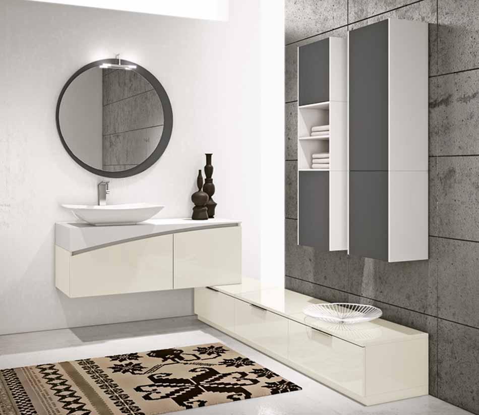 Bmt Arredo Bagno Moderno Pi Quadro – Bruni Arredamenti – 140