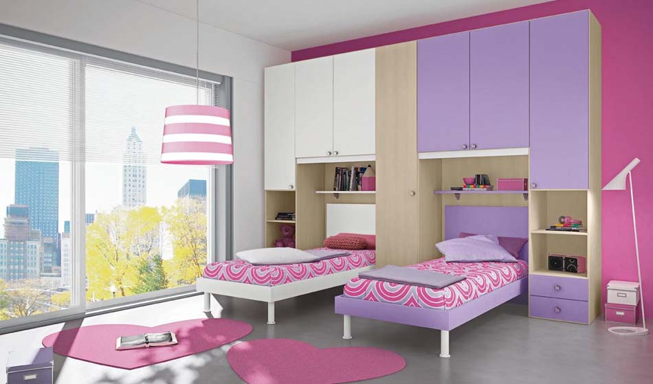 Camerette Moderne Colombini Ponte – Bruni Arredamenti – 106