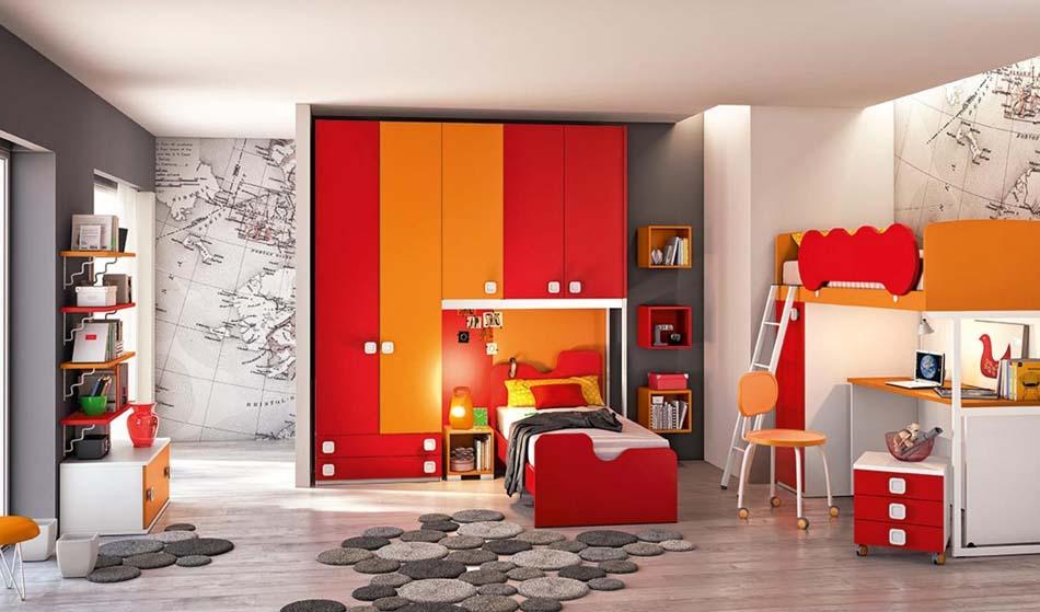 Camerette Moderne Colombini Ponte – Bruni Arredamenti – 112