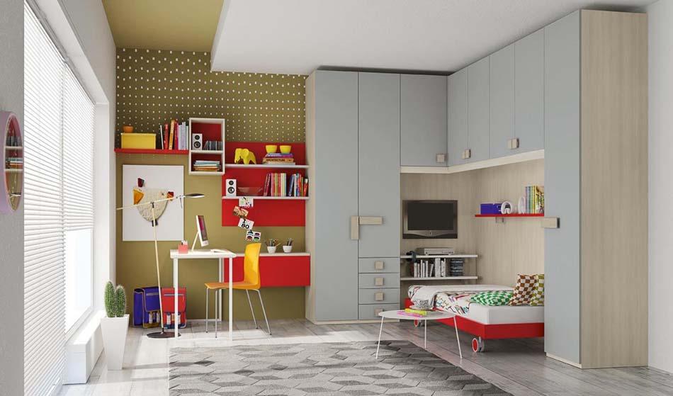 Camerette Moderne Colombini Ponte – Bruni Arredamenti – 115