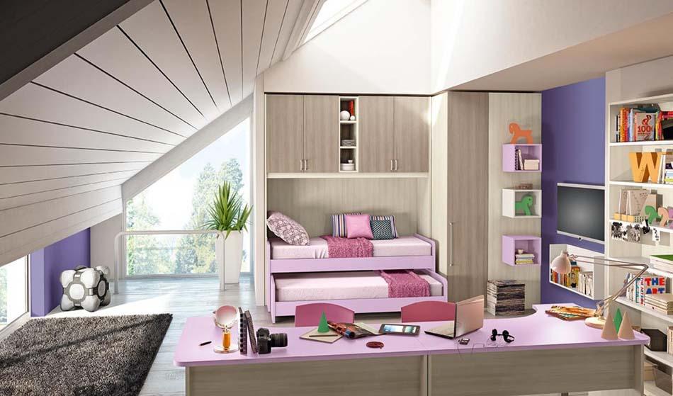 Camerette Moderne Colombini Ponte – Bruni Arredamenti – 116