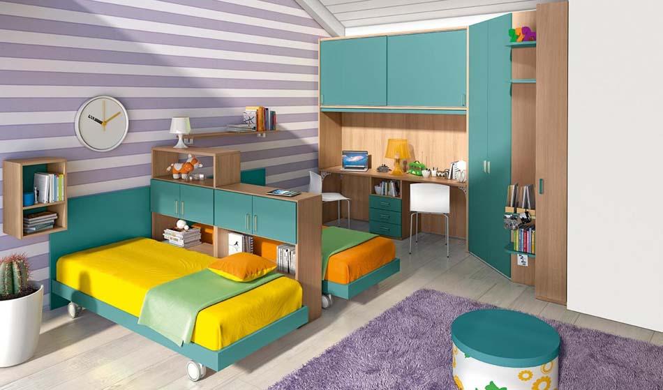 Camerette Moderne Colombini Ponte – Bruni Arredamenti – 126
