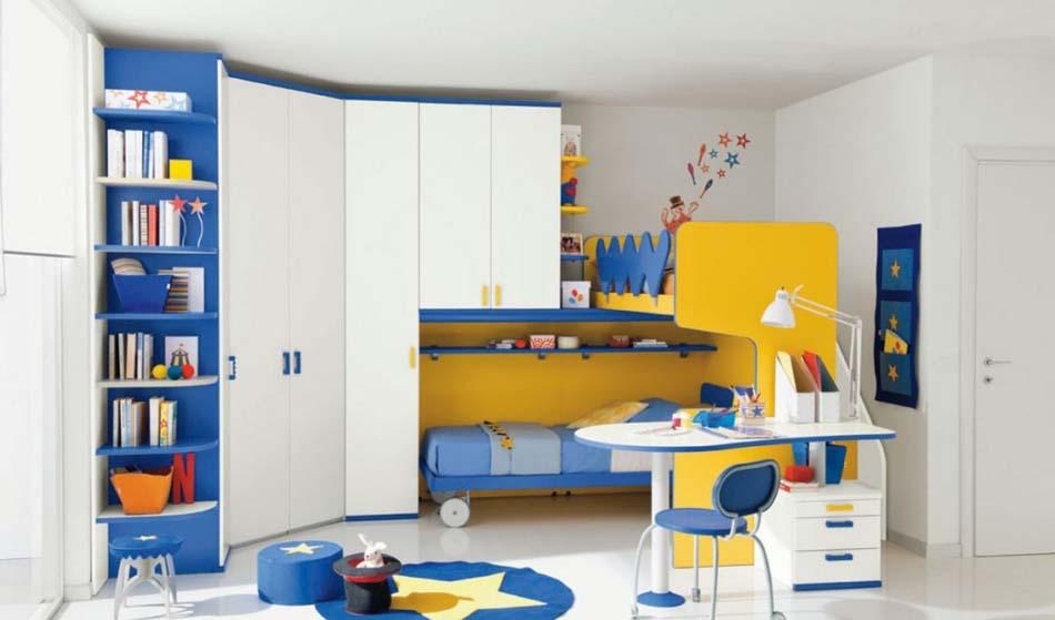 Camerette Moderne Colombini Soppalco – Bruni Arredamenti – 104