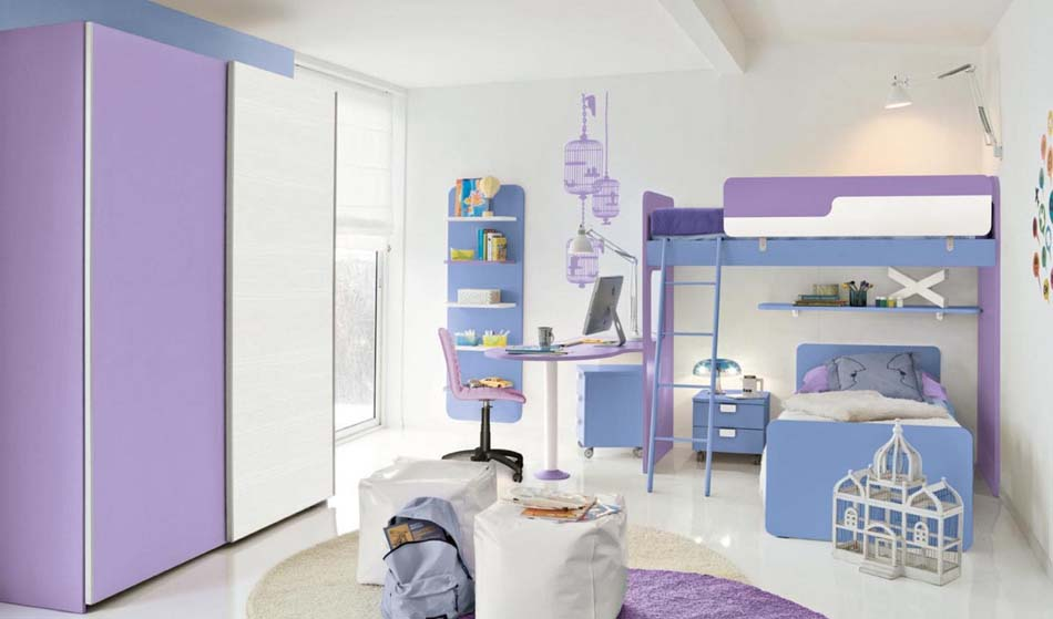 Camerette Moderne Colombini Soppalco – Bruni Arredamenti – 105