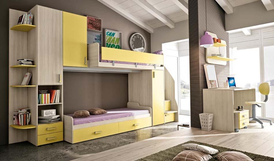 Camerette Moderne Colombini Soppalco – Bruni Arredamenti – 106