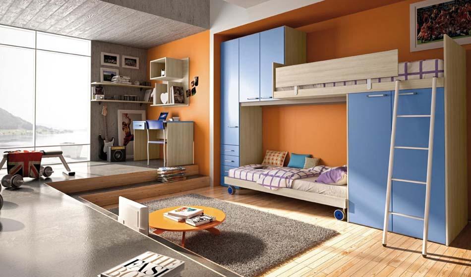 Camerette Moderne Colombini Soppalco – Bruni Arredamenti – 107