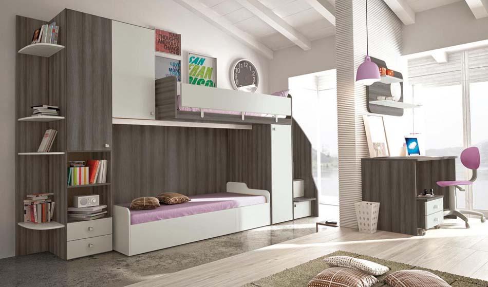 Camerette Moderne Colombini Soppalco – Bruni Arredamenti – 108