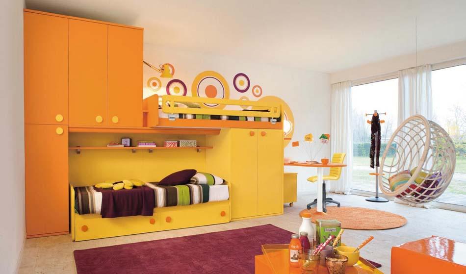 Camerette Moderne Colombini Soppalco – Bruni Arredamenti – 110