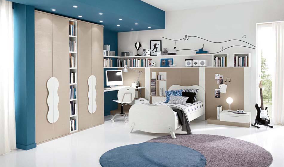 Camerette Moderne Colombini Soppalco – Bruni Arredamenti – 114