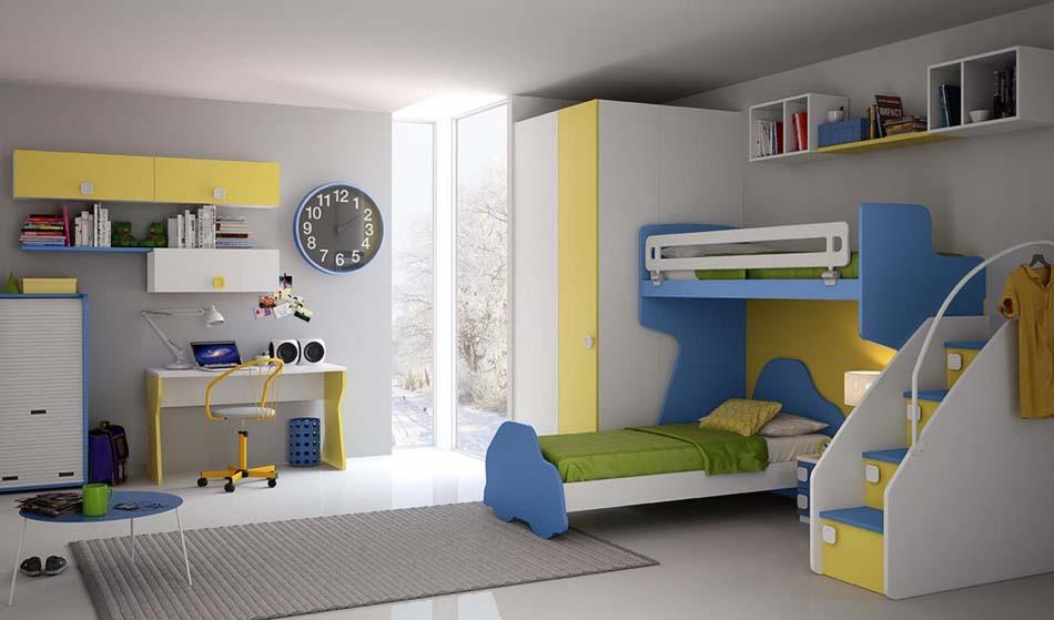 Camerette Moderne Colombini Soppalco – Bruni Arredamenti – 115