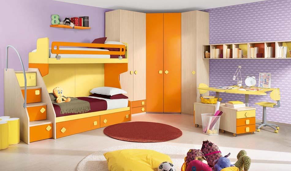 Camerette Moderne Colombini Soppalco – Bruni Arredamenti – 116