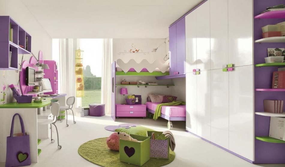 Camerette Moderne Colombini Soppalco – Bruni Arredamenti – 118