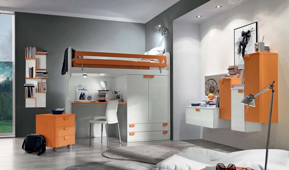 Camerette Moderne Colombini Soppalco – Bruni Arredamenti – 119