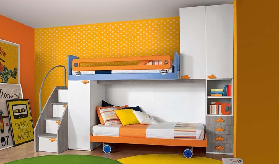 Camerette Moderne Colombini Soppalco – Bruni Arredamenti – 124