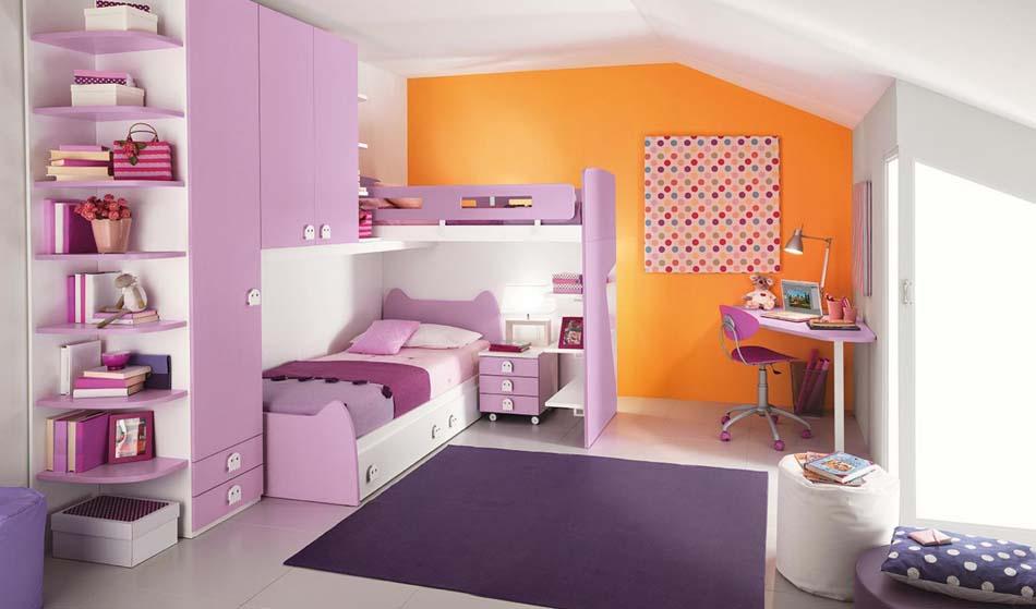 Camerette Moderne Colombini Soppalco – Bruni Arredamenti – 126