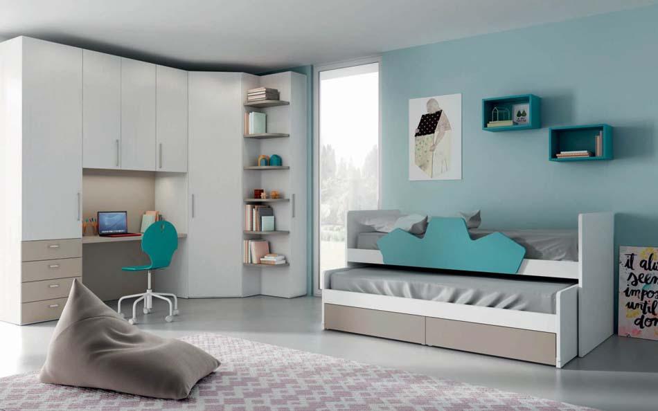 Camerette Moderne Mistral – Bruni Arredamenti – 101