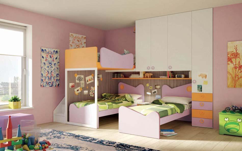 Camerette Moderne Soppalco Mistral – Bruni Arredamenti – 100