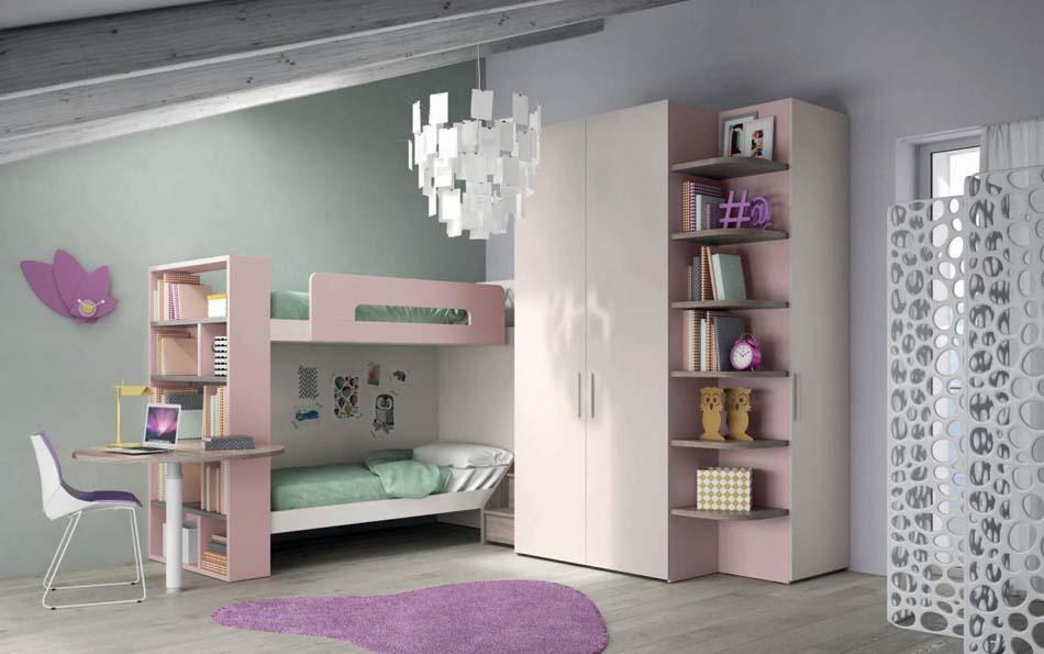 Camerette Moderne Soppalco Mistral – Bruni Arredamenti – 104