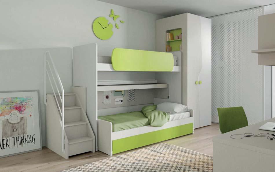 Camerette Moderne Soppalco Mistral – Bruni Arredamenti – 105A