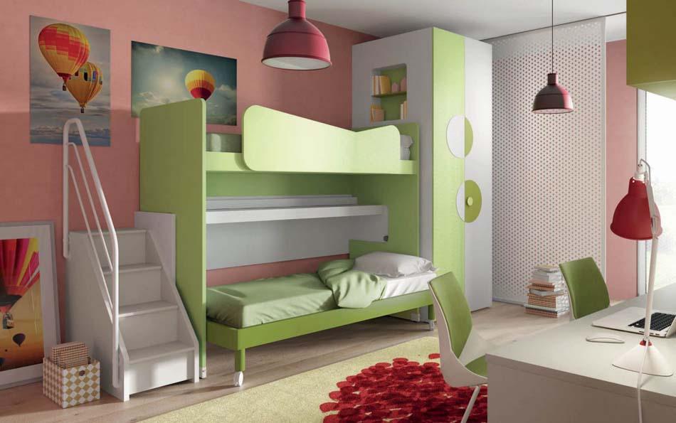 Camerette Moderne Soppalco Mistral – Bruni Arredamenti – 105B