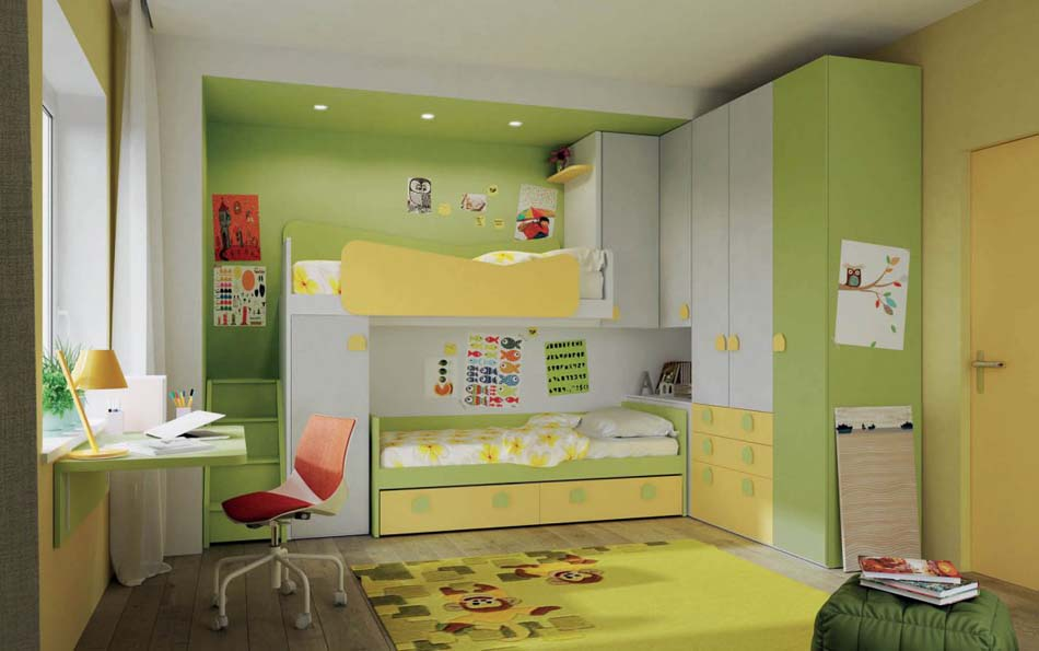 Camerette Moderne Soppalco Mistral – Bruni Arredamenti – 107