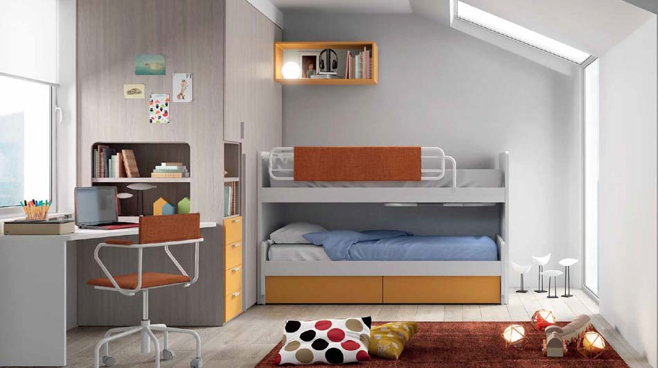 Camerette Moderne Soppalco Mistral – Bruni Arredamenti – 108