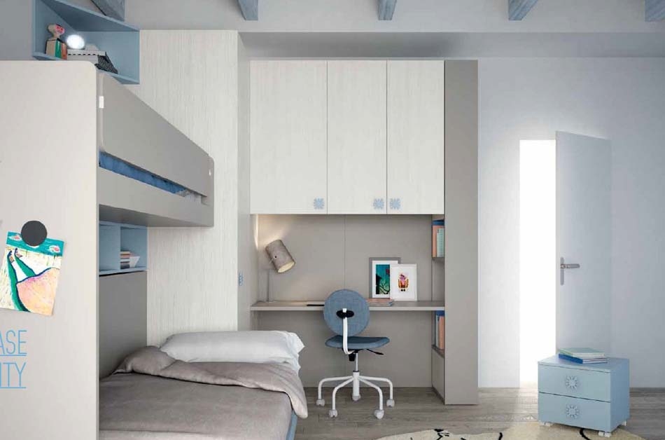 Camerette Moderne Soppalco Mistral – Bruni Arredamenti – 109