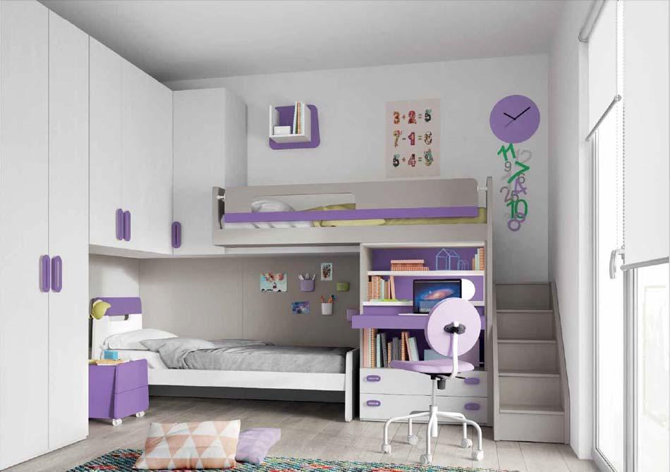 Camerette Moderne Soppalco Mistral – Bruni Arredamenti – 110