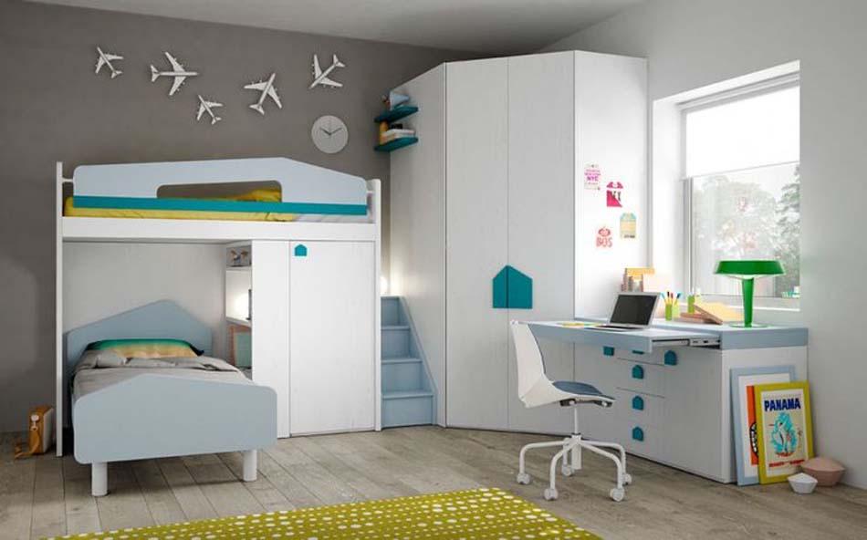 Camerette Moderne Soppalco Mistral – Bruni Arredamenti – 113