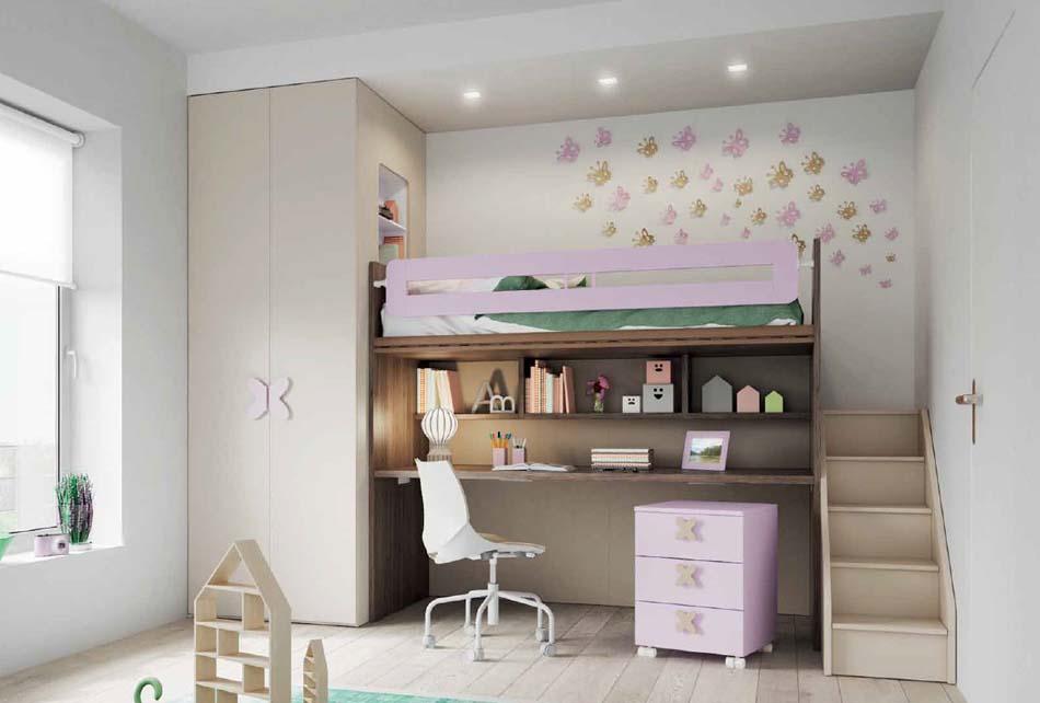 Camerette Moderne Soppalco Mistral – Bruni Arredamenti – 114