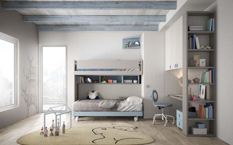 Camerette Moderne Soppalco Mistral – Bruni Arredamenti – 117