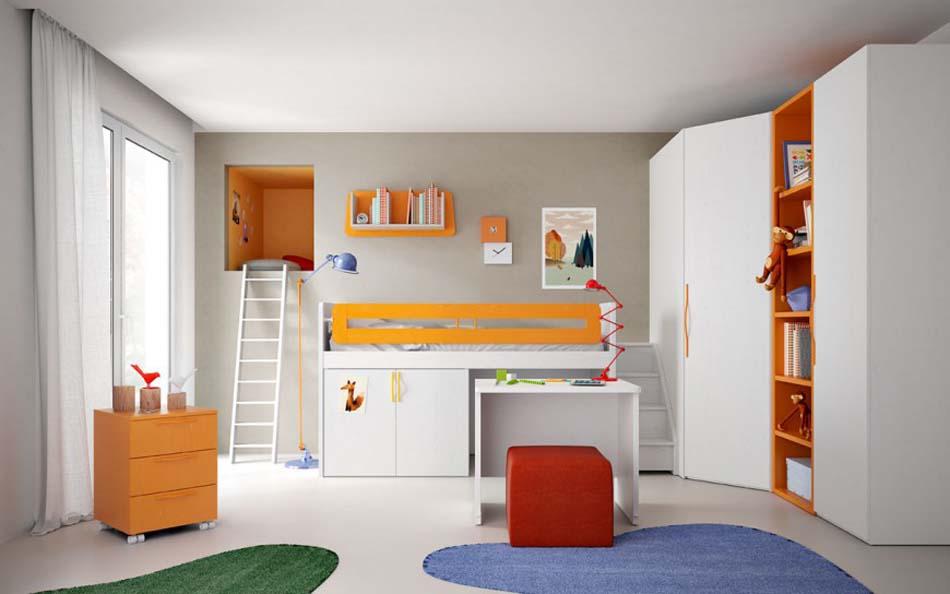 Camerette Moderne Soppalco Mistral – Bruni Arredamenti – 118