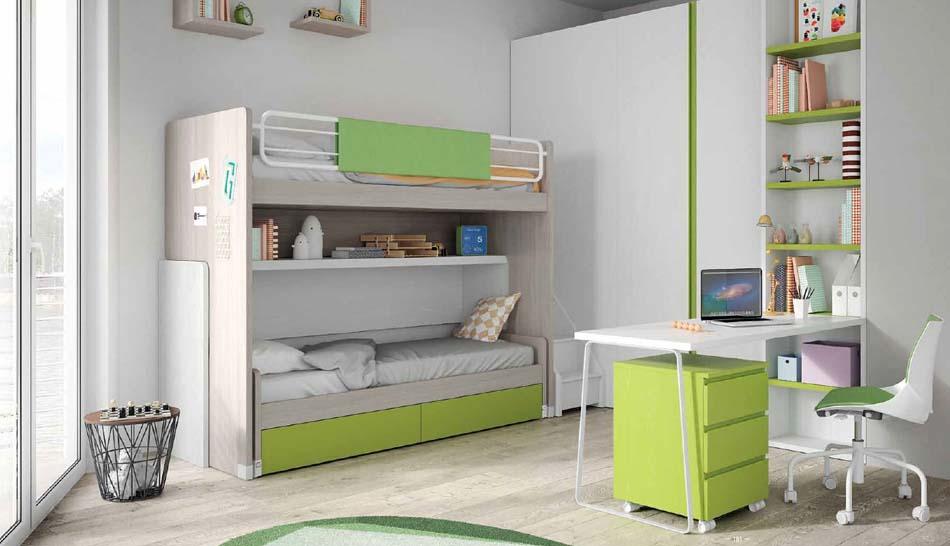 Camerette Moderne Soppalco Mistral – Bruni Arredamenti – 120