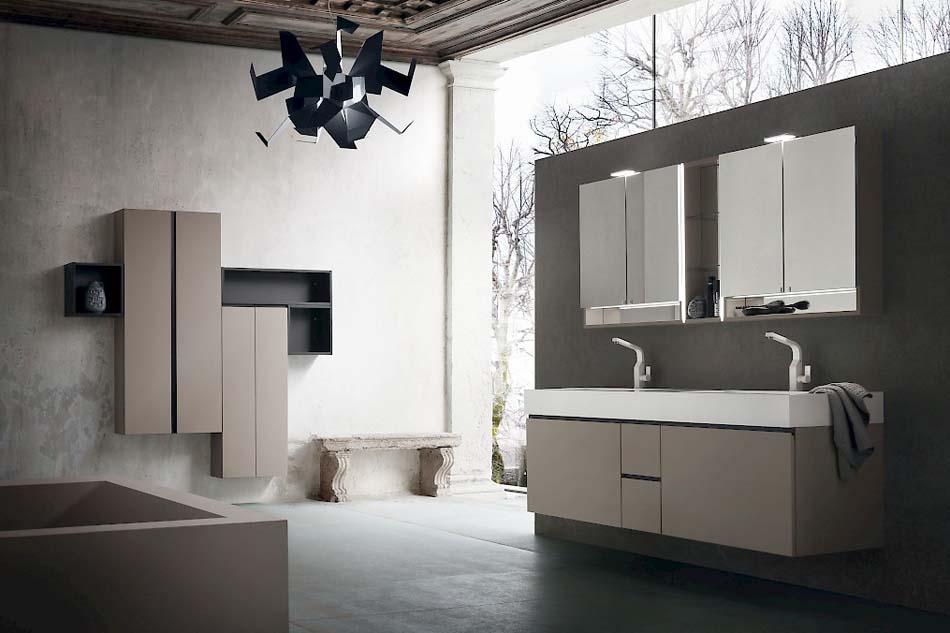 Compab Arredo Bagno Jacana Luxury 2 Lavandini – Bruni Arredamenti – 105