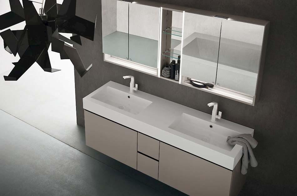 Compab Arredo Bagno Jacana Luxury 2 Lavandini – Bruni Arredamenti – 106