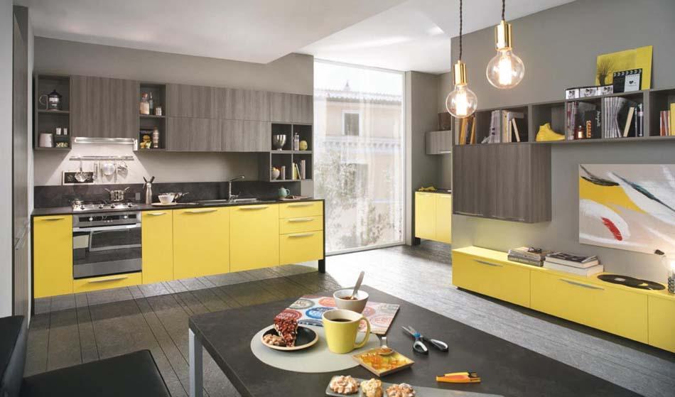 Cucine Artec Moderne Quadra – Bruni Arredamenti – 140