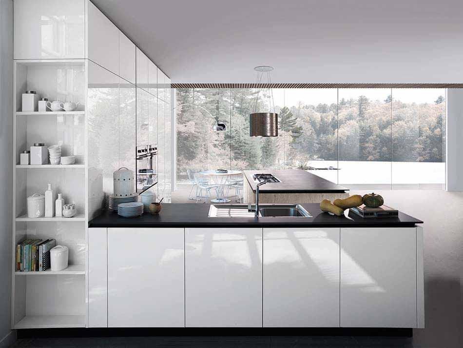 Cucine Miton Moderne Sincro Glossy – Bruni Arredamenti – 104