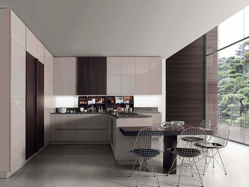 Cucine Miton Moderne Sincro Glossy – Bruni Arredamenti – 106