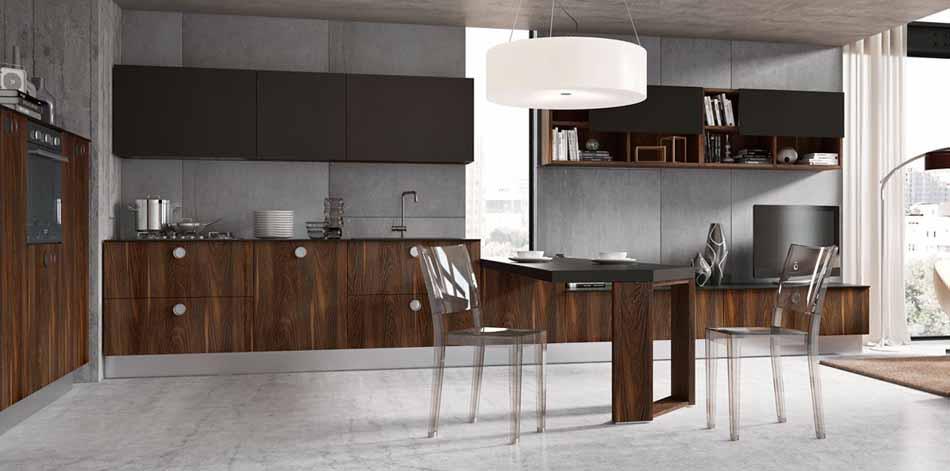 Cucine artigiali su misura 02- Linea Lounge – Bruni Arredamenti.