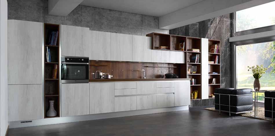 Cucine artigiali su misura 18 – Linea Rockwood – Bruni Arredamenti