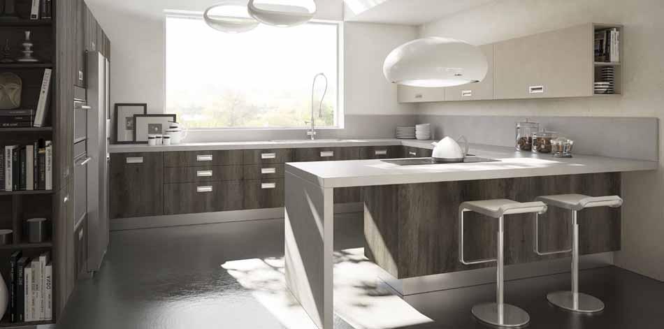 Cucine artigiali su misura 28 – Linea Rockwood – Bruni Arredamenti.